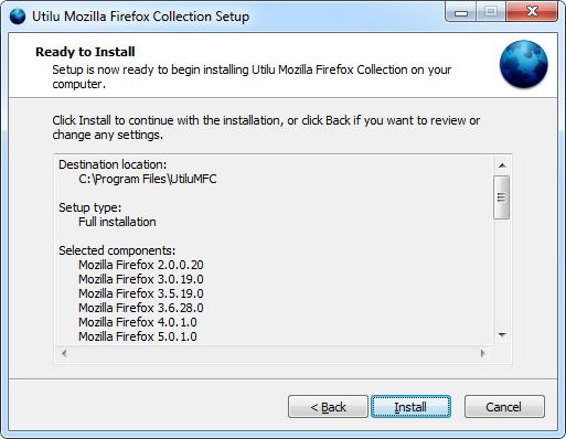 Utilu Mozilla Firefoxi kollektsiooni seadistamine: installimiseks valmis